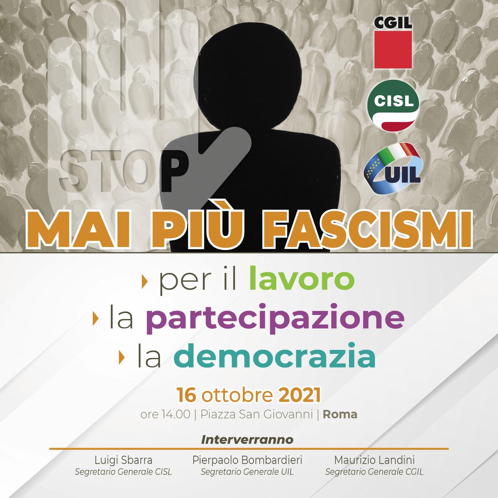 mai più fascismi